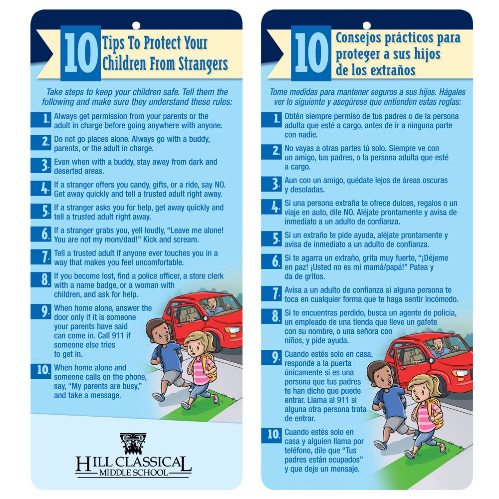 10 Tips To Protect Your Children From Strangers Bilingual Glancer