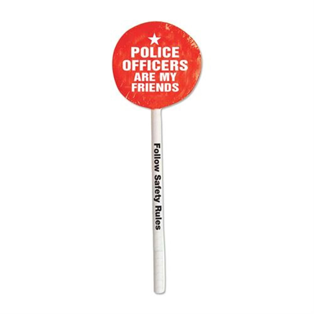 Police Officers Are My Friends Lollipops