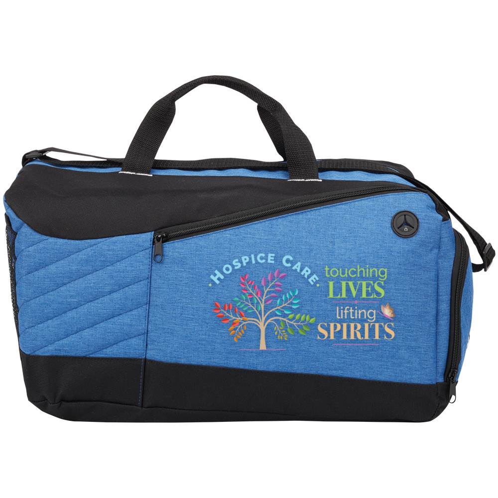 Hospice Care: Touching Lives, Lifting Spirits Stafford Duffel Bag