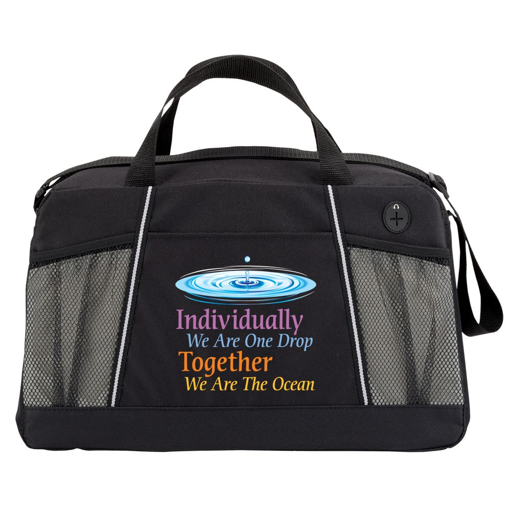 Individually We Are One Drop, Together We Are The Ocean Northport Duffel Bag