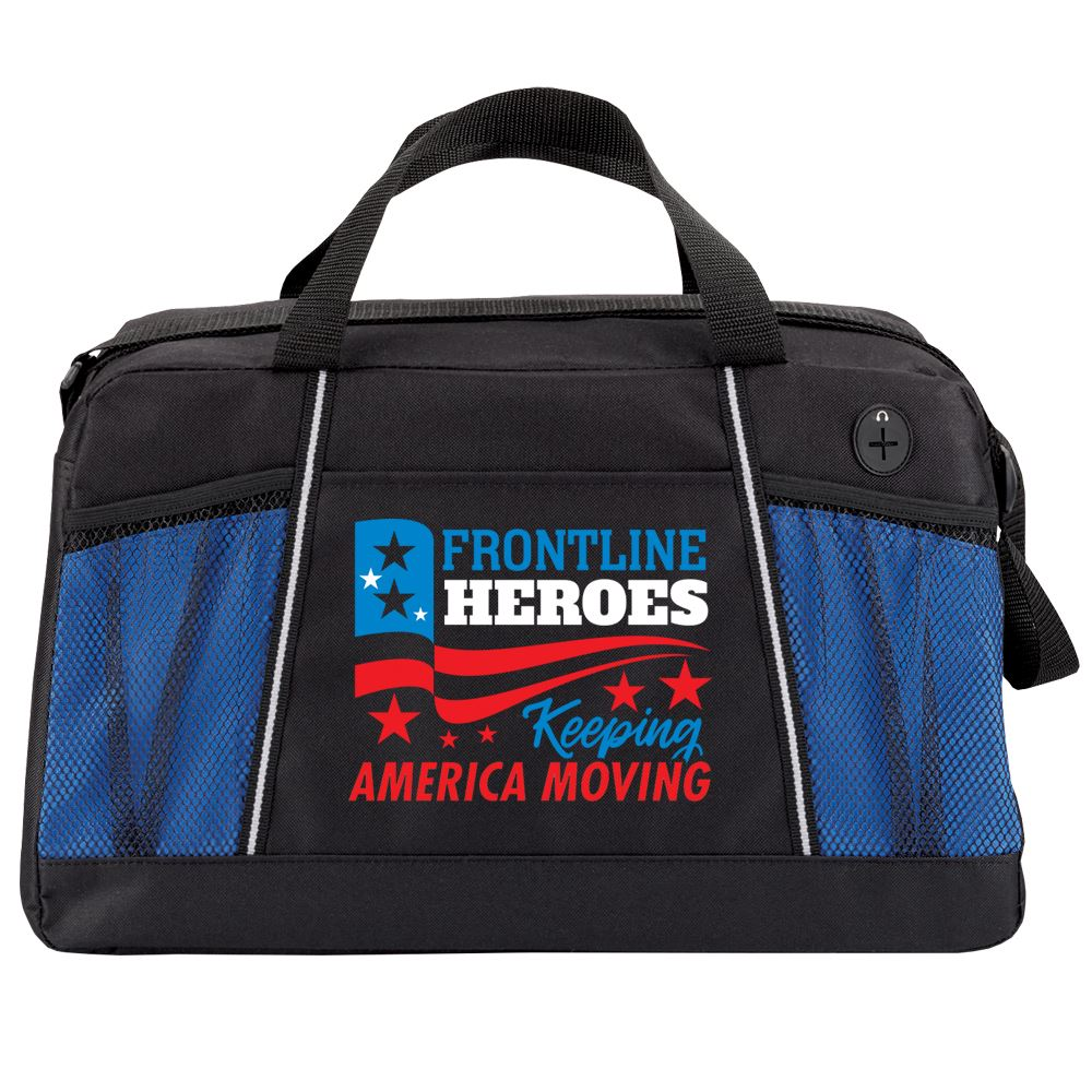 Frontline Heroes Keeping America Moving Northport Duffel Bag