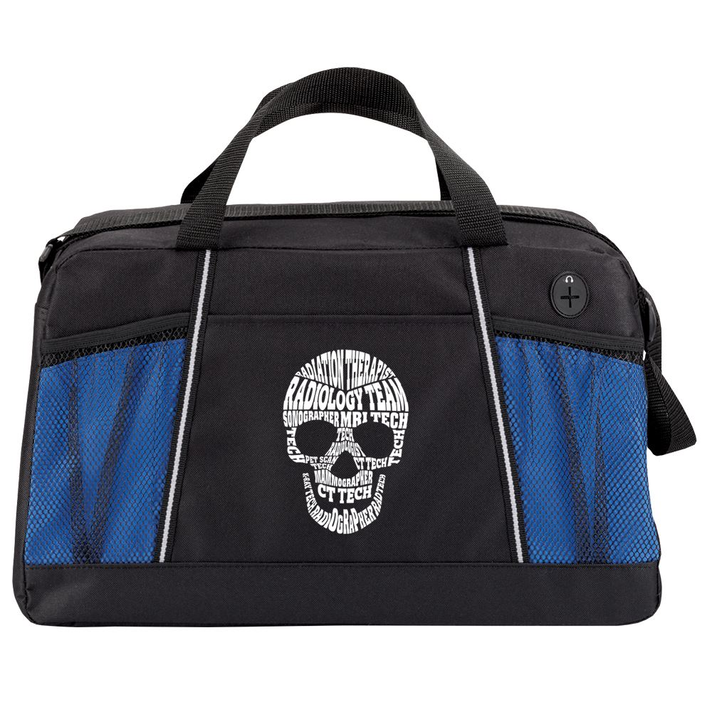 Radiology Team Skull Word Cloud Northport Duffel Bag