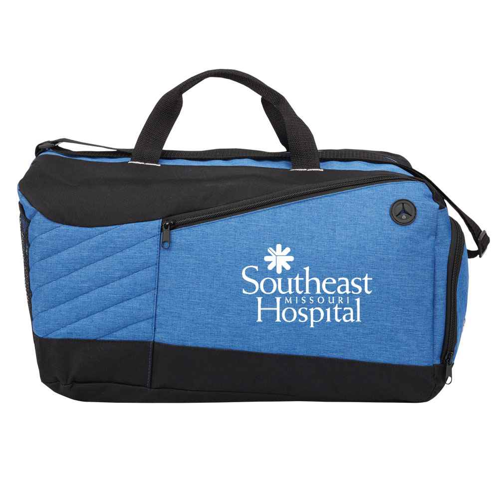 Blue Stafford Duffel Bag - 1-Color Personalization Available