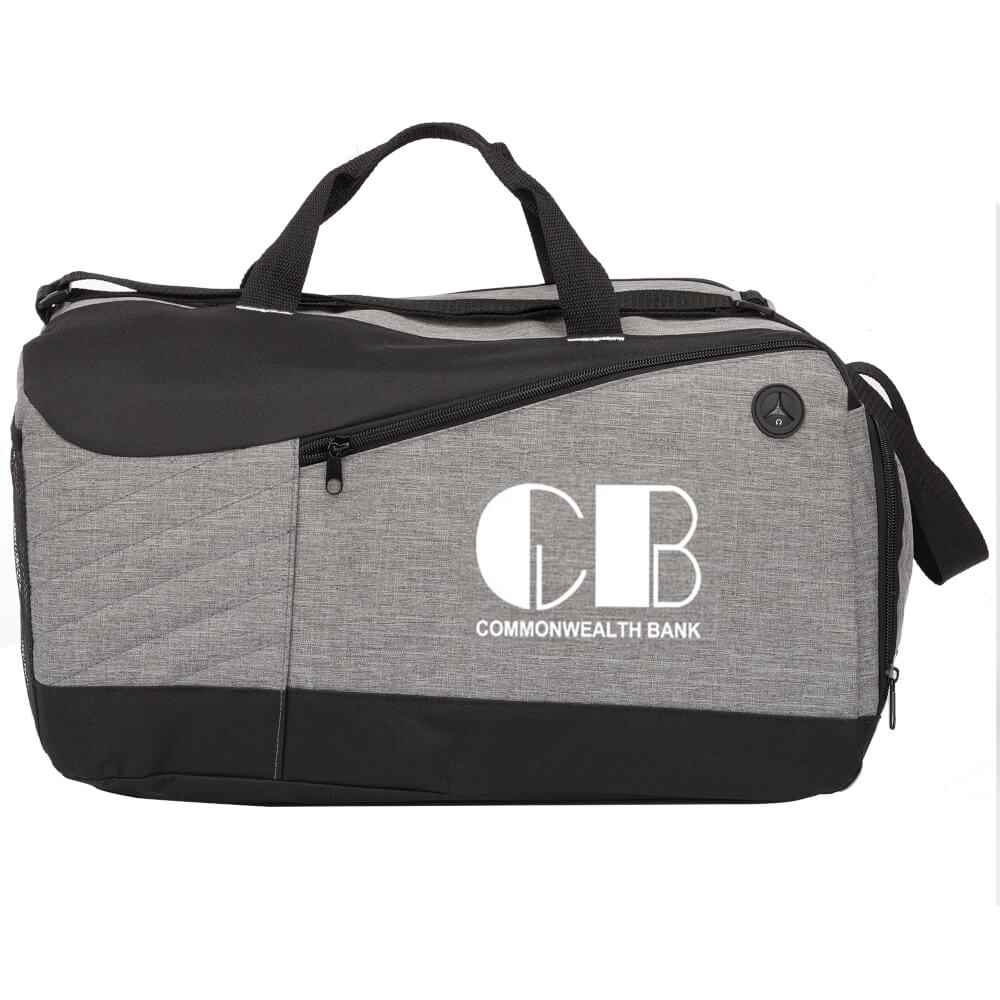 Gray Stafford Duffel Bag - 1-Color Personalization Available