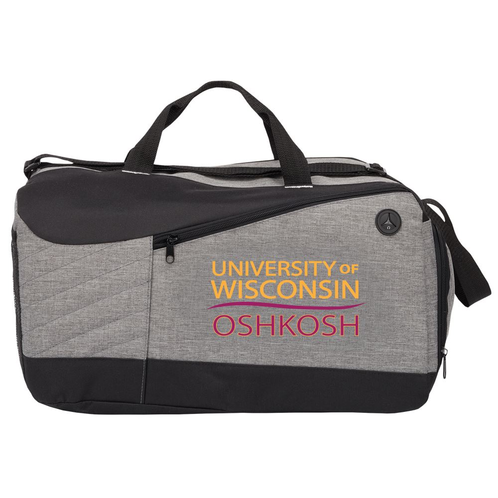 Gray Stafford Duffel Bag - Full Color Personalization Available