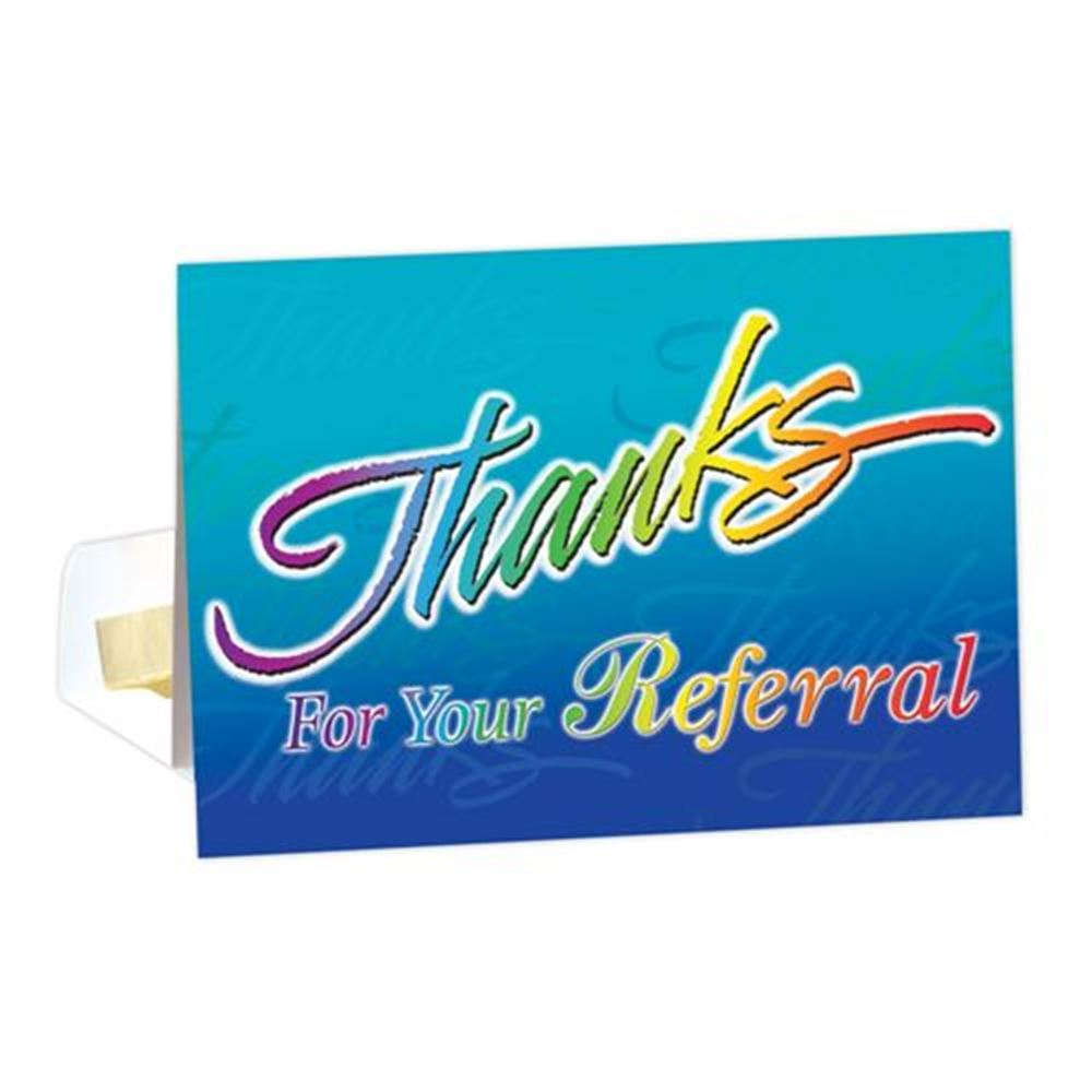 Thanks For Your Referral Greeting Card