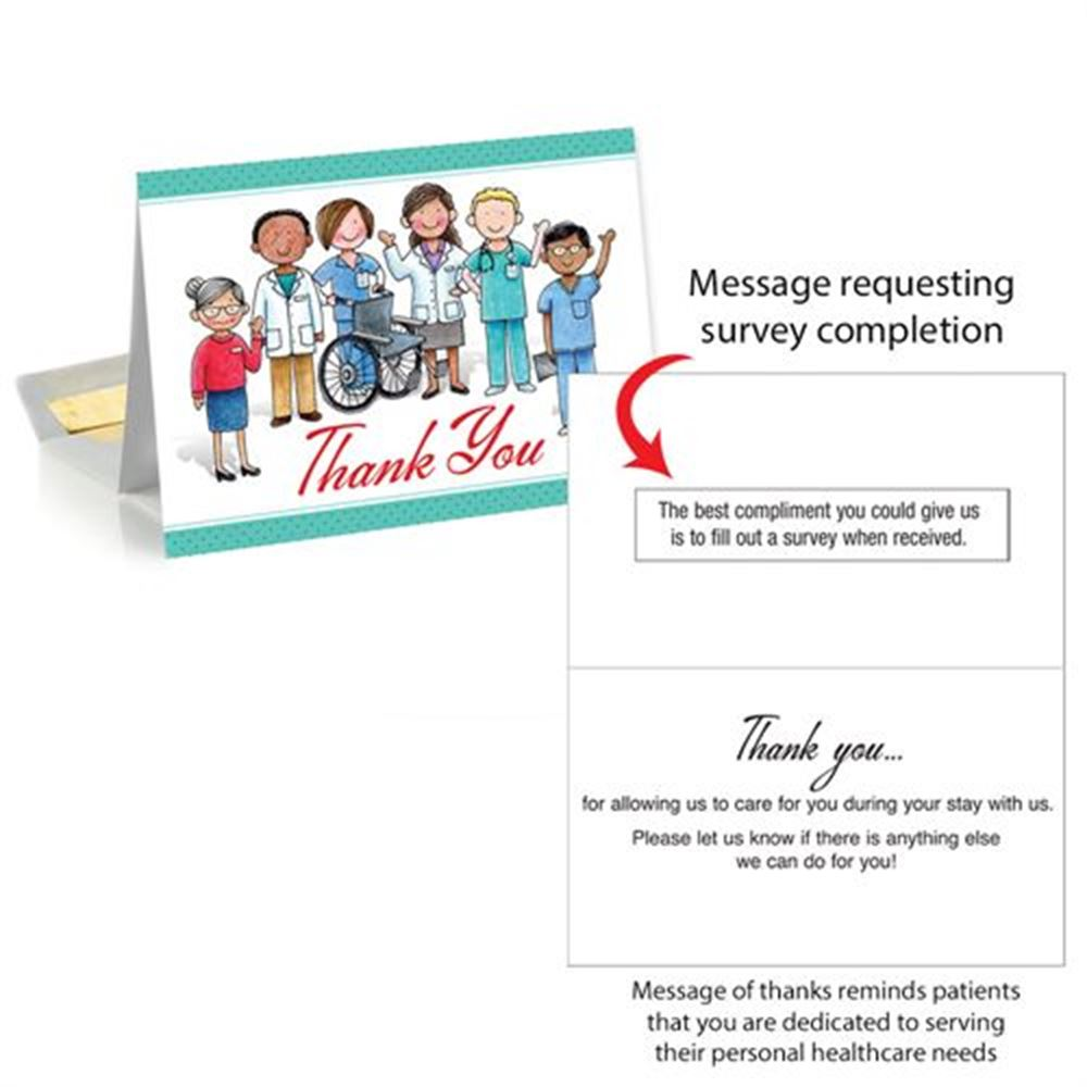 Thank You Patient Follow Up Greeting Card Positive