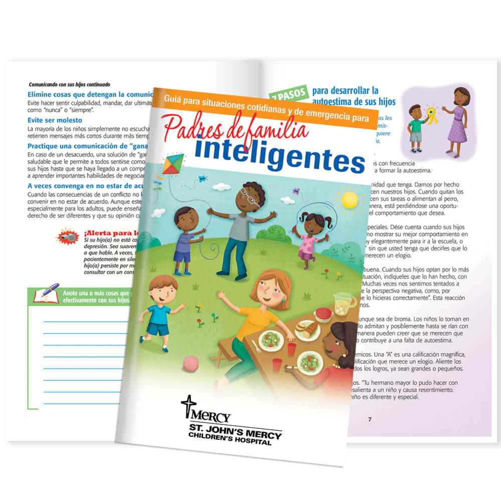 Smart Parenting Spanish Language Journal - Personalization Available