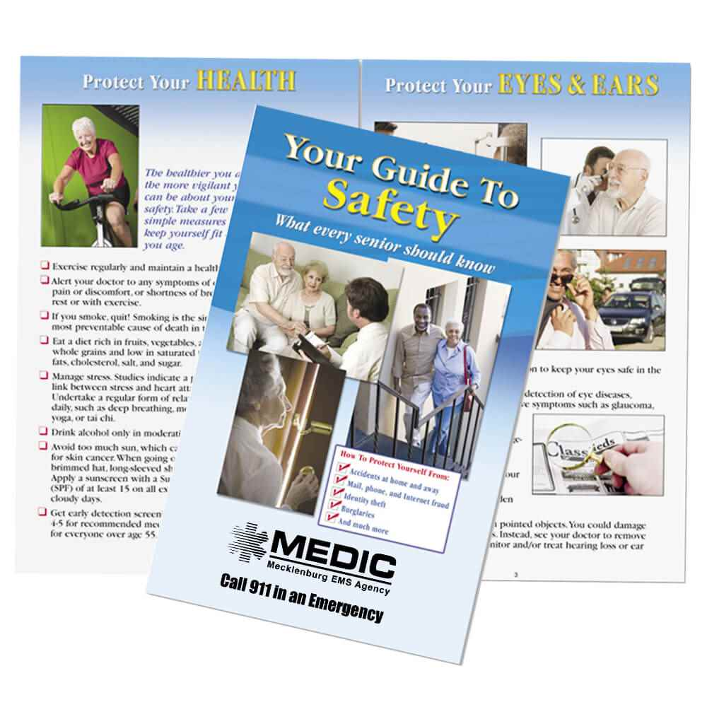 Your Guide To Safety: What Everyone 55 + Should Know - Personalization Available