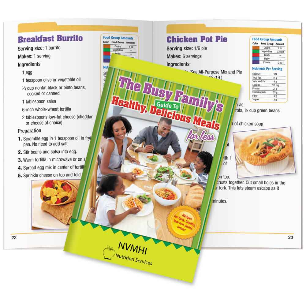 The Busy Family's Guide To Healthy, Delicious Meals For Less - Personalization Available