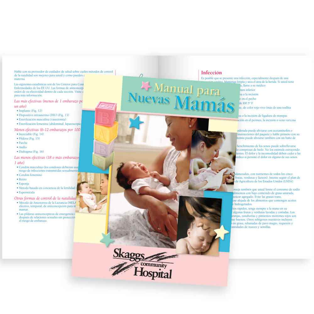 The New Mom's Handbook Spanish Edition - Personalization Available