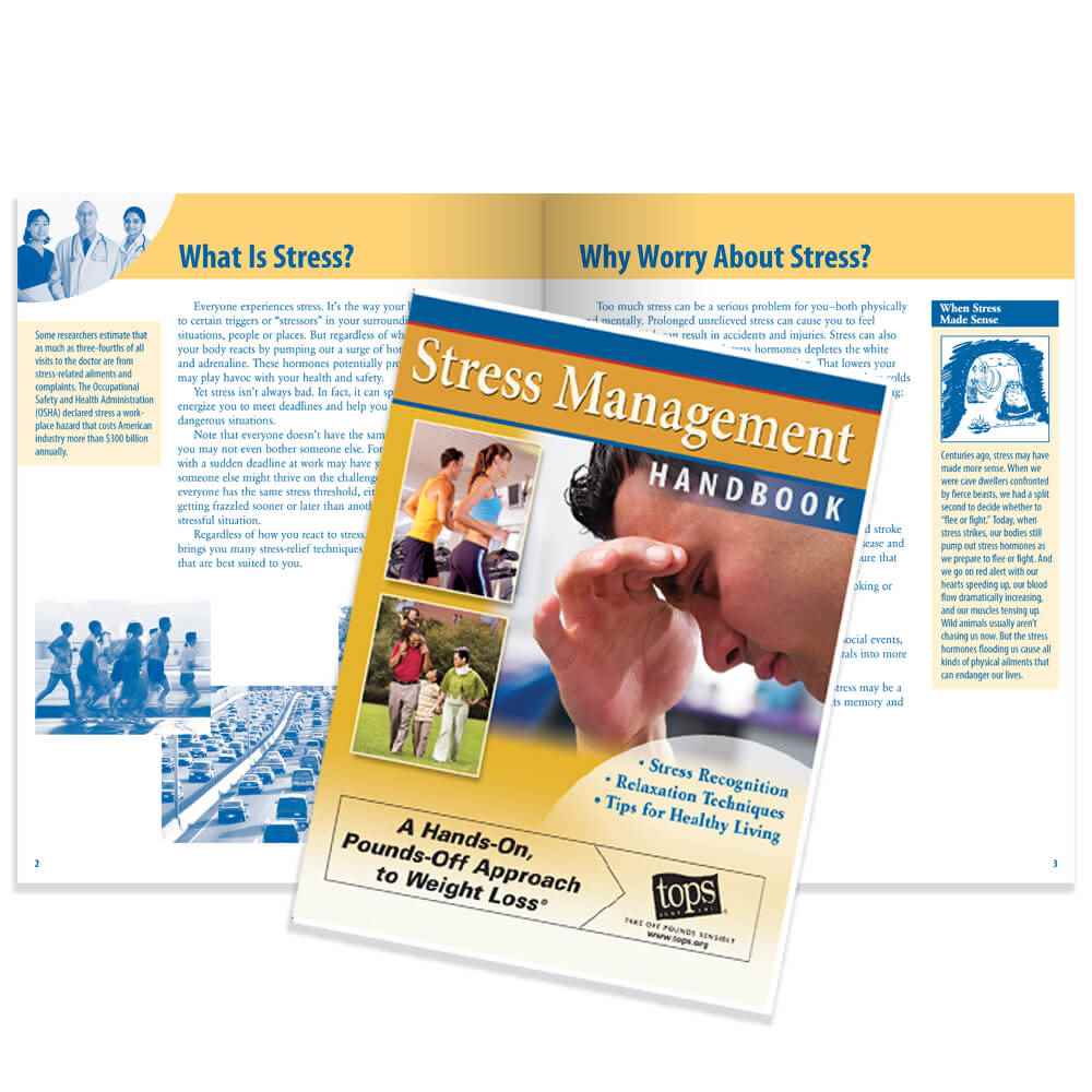 Stress Management Handbook - Personalization Available