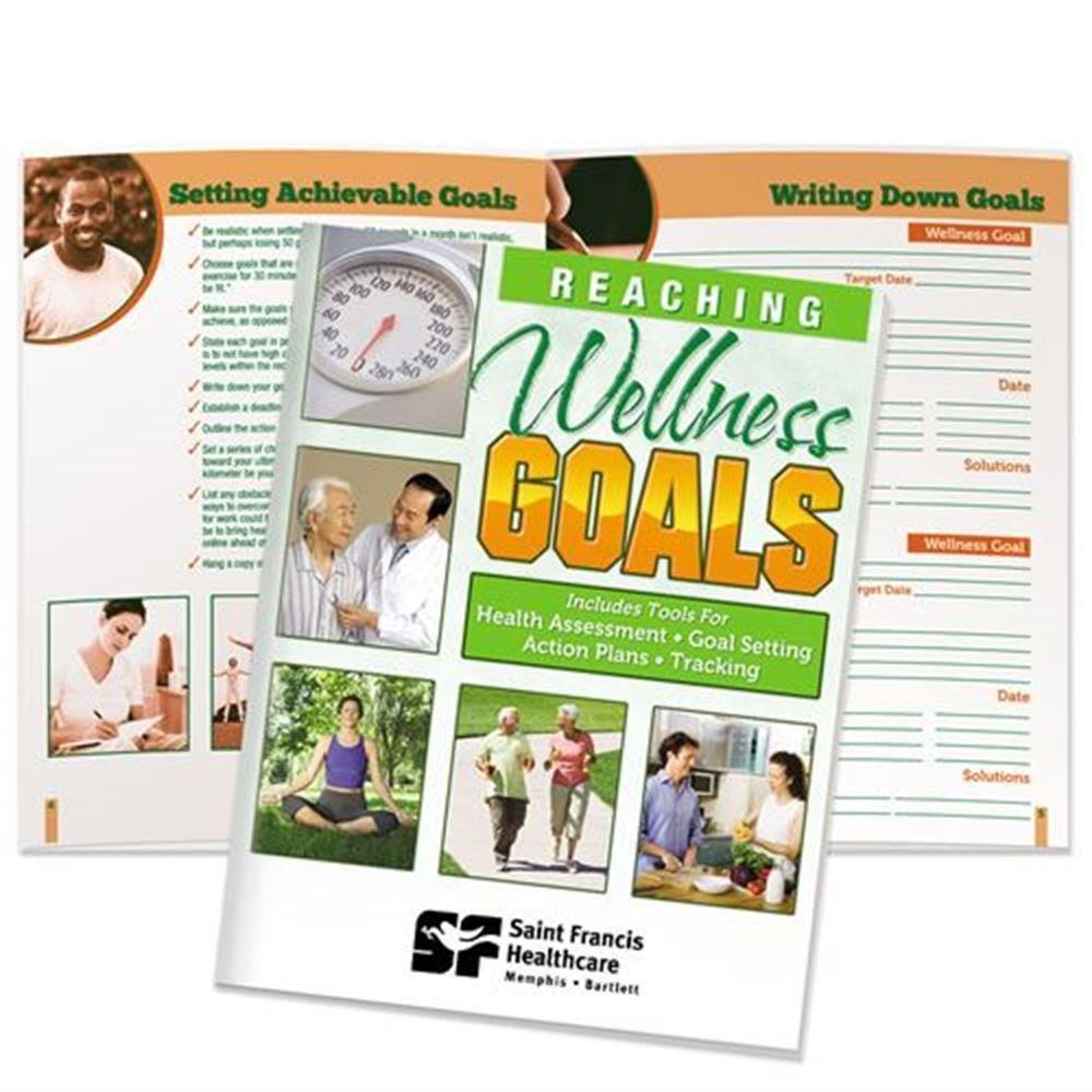 Reaching Wellness Goals Handbook - Personalization Available
