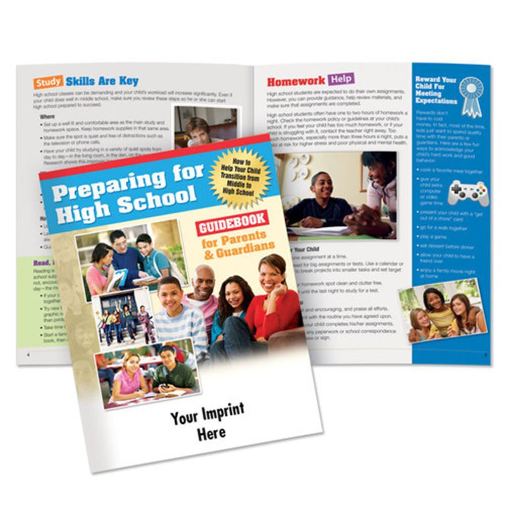Preparing For High School Guidebook For Parents & Guardians (English) - Personalization Available
