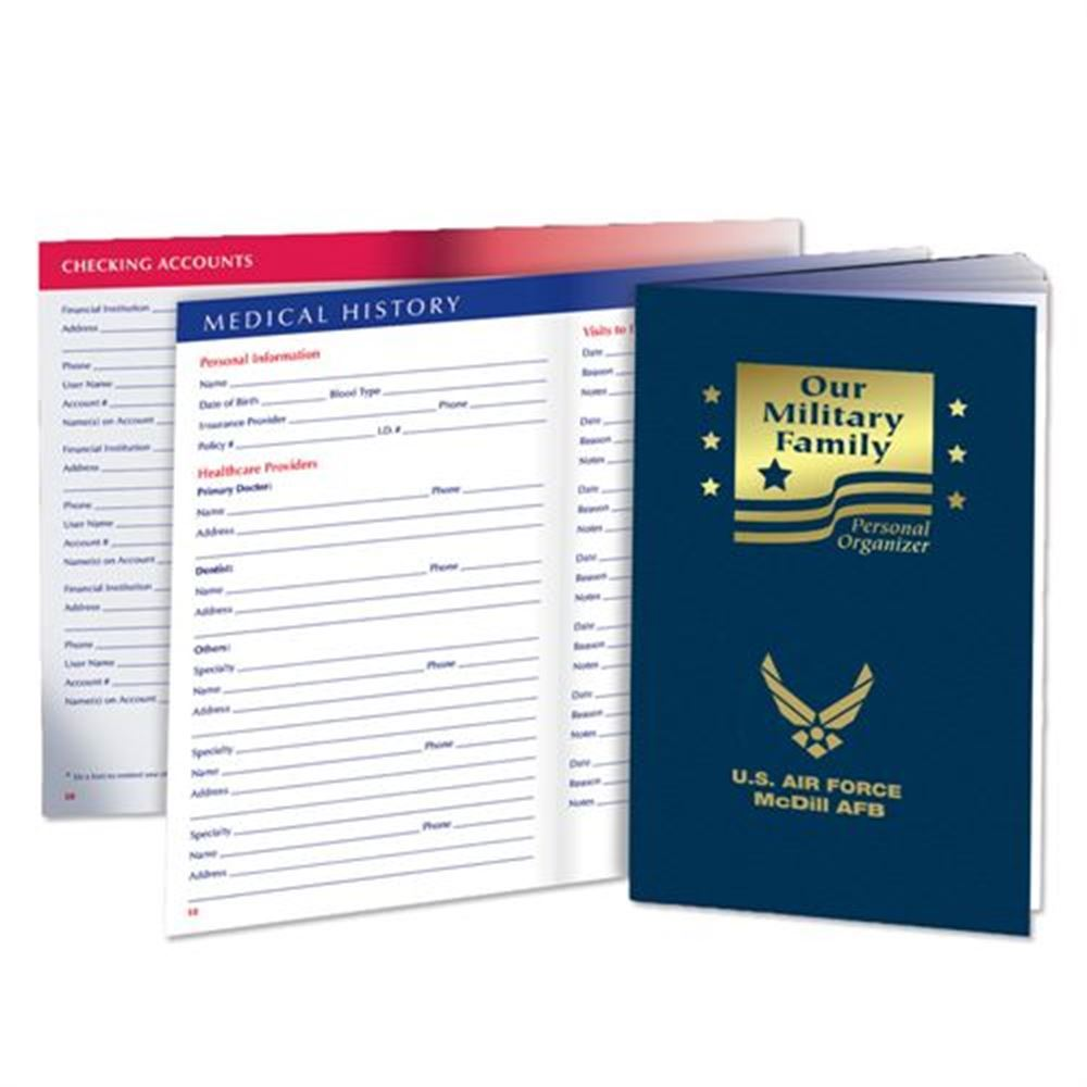 Our Military Family Personal Organizer - Personalization Available