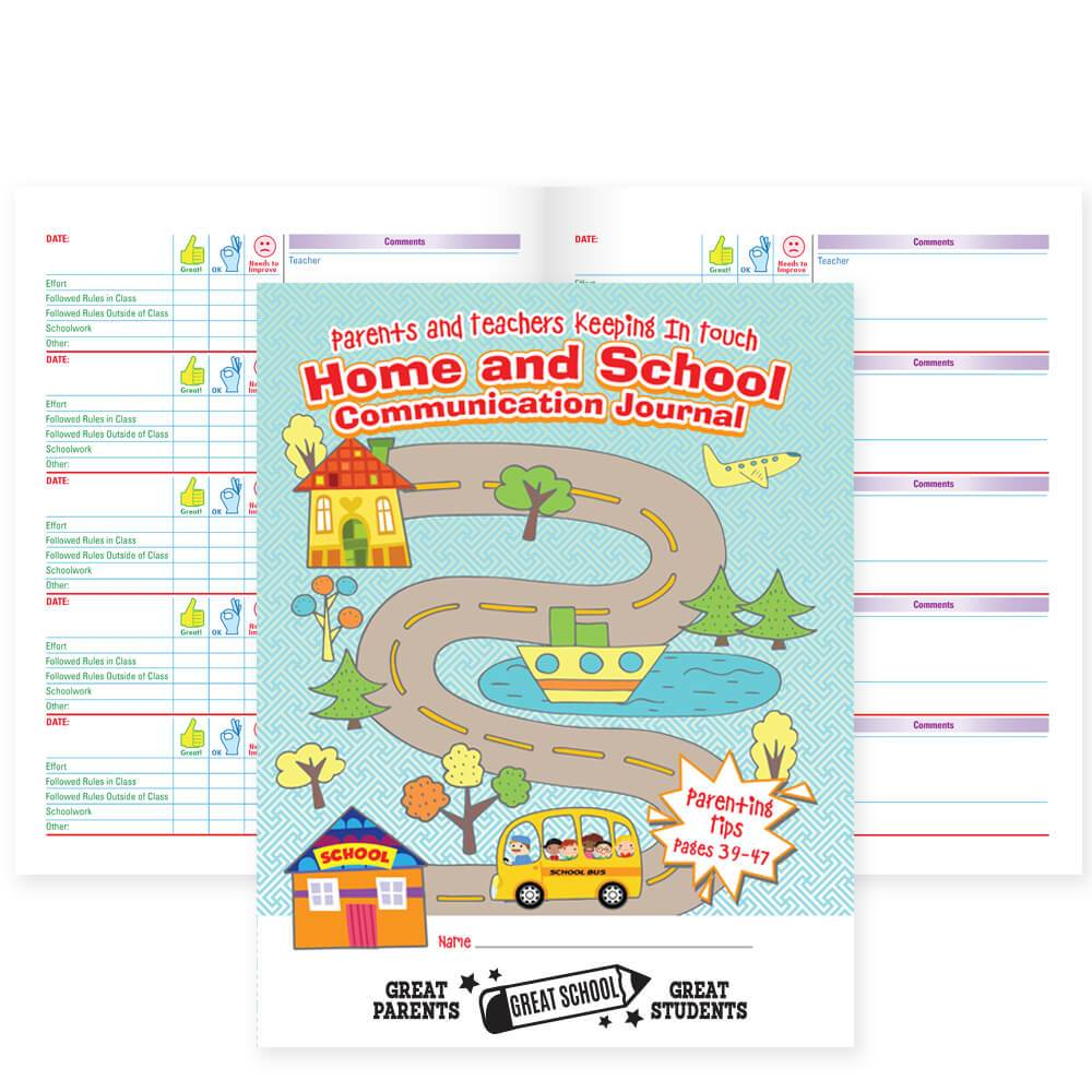 Parent and Teachers Keeping in Touch Home and School Communication Journal