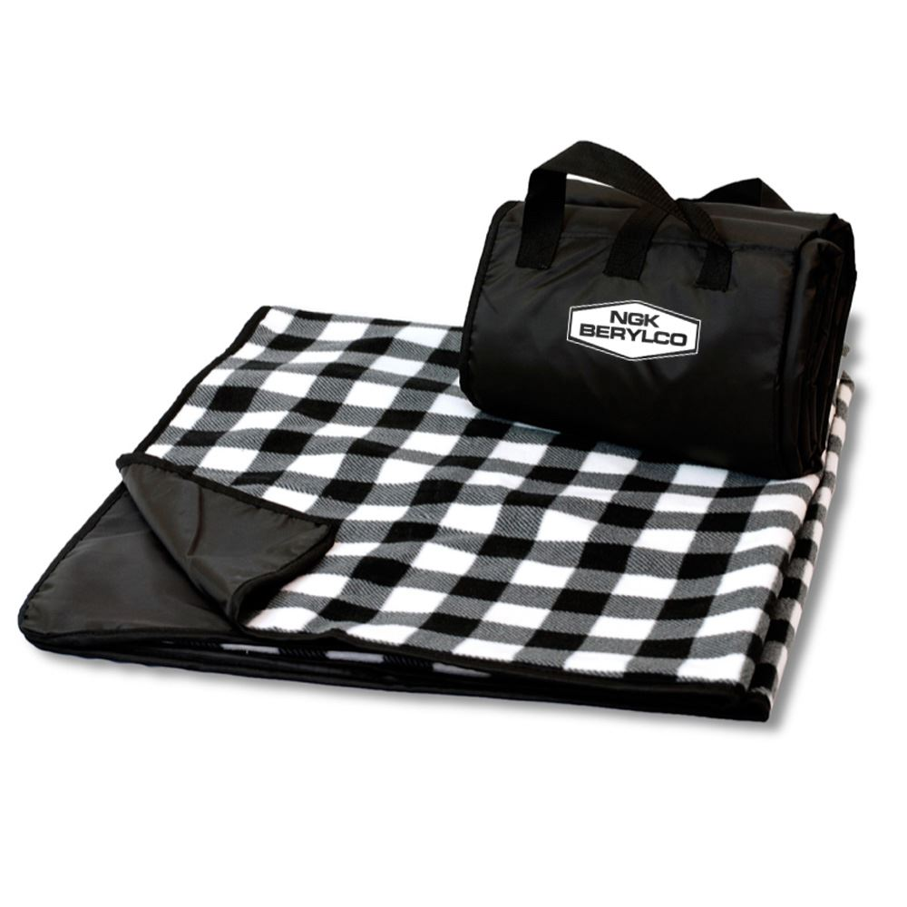 Picnic Blanket Woody Camo - Embroidered Personalization Available