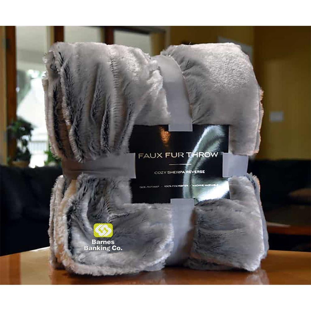 Faux Fur Blanket - Personalization Available