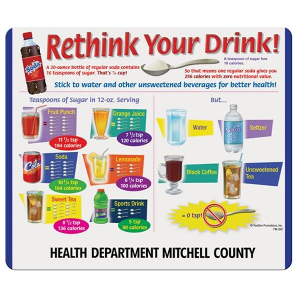Rethink Your Drink! Magnet - Personalization Available