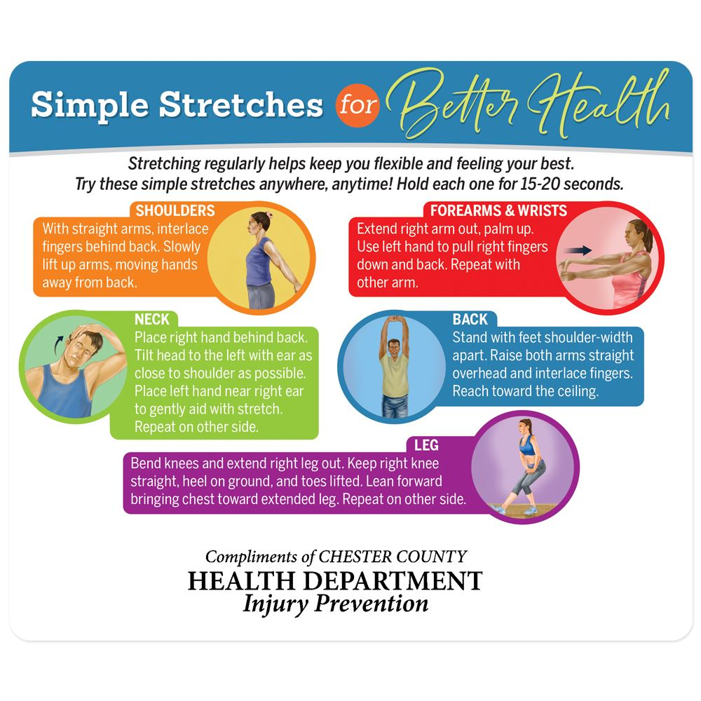 Simple Stretches Magnet