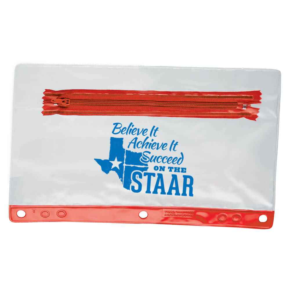 Believe It, Achieve It, Succeed On The STAAR Pencil Pouch - Pack of 10