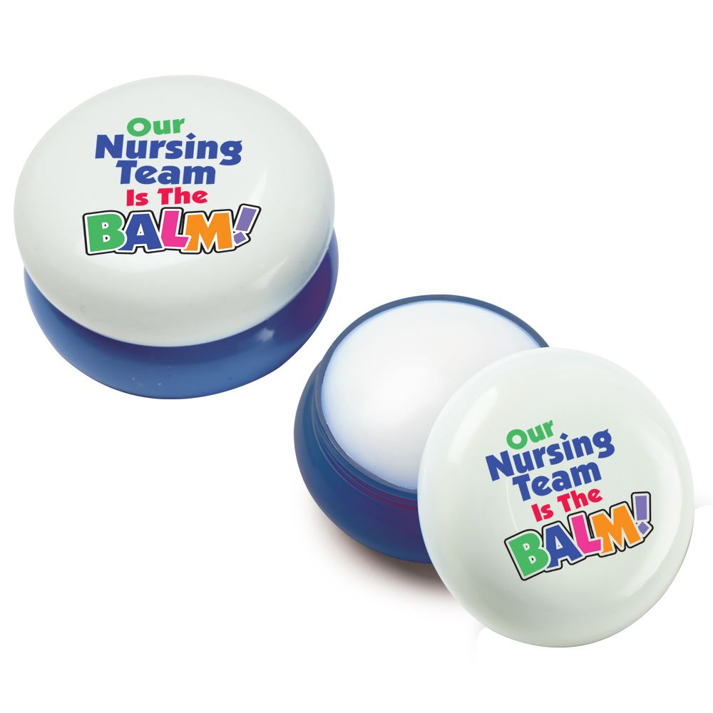 Our Nursing Team Is Balm! Round Lip Balm - Pack of 10