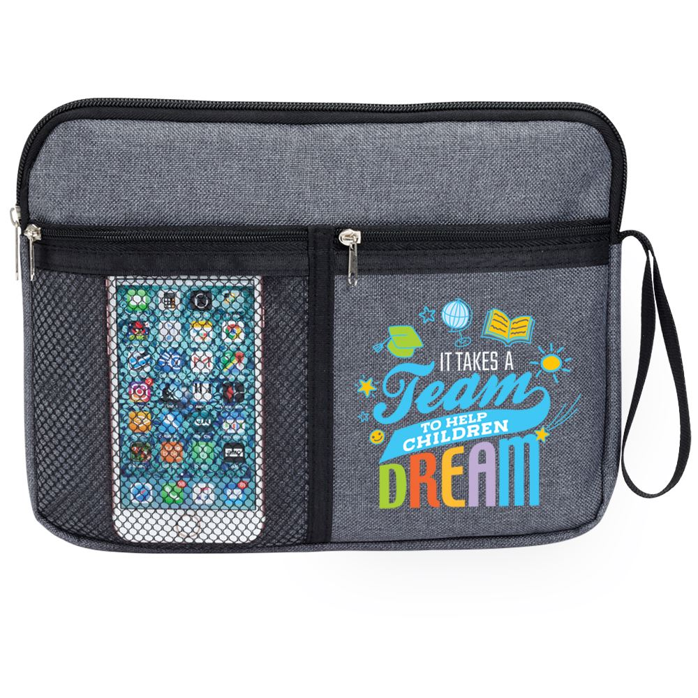It Takes A Team To Help Children Dream Cambria Multi-Purpose Bag