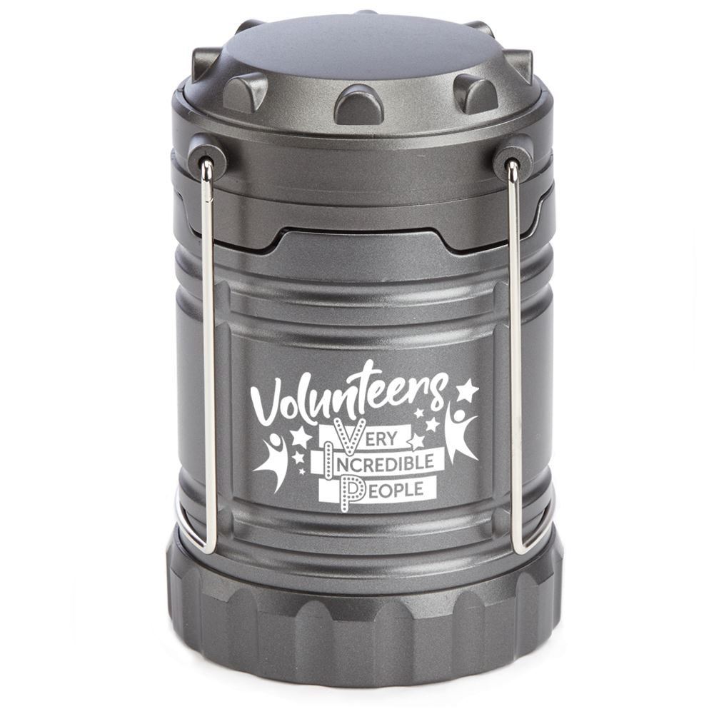 Volunteers: Very Incredible People Indoor/Outdoor Lantern with Magnetic Base