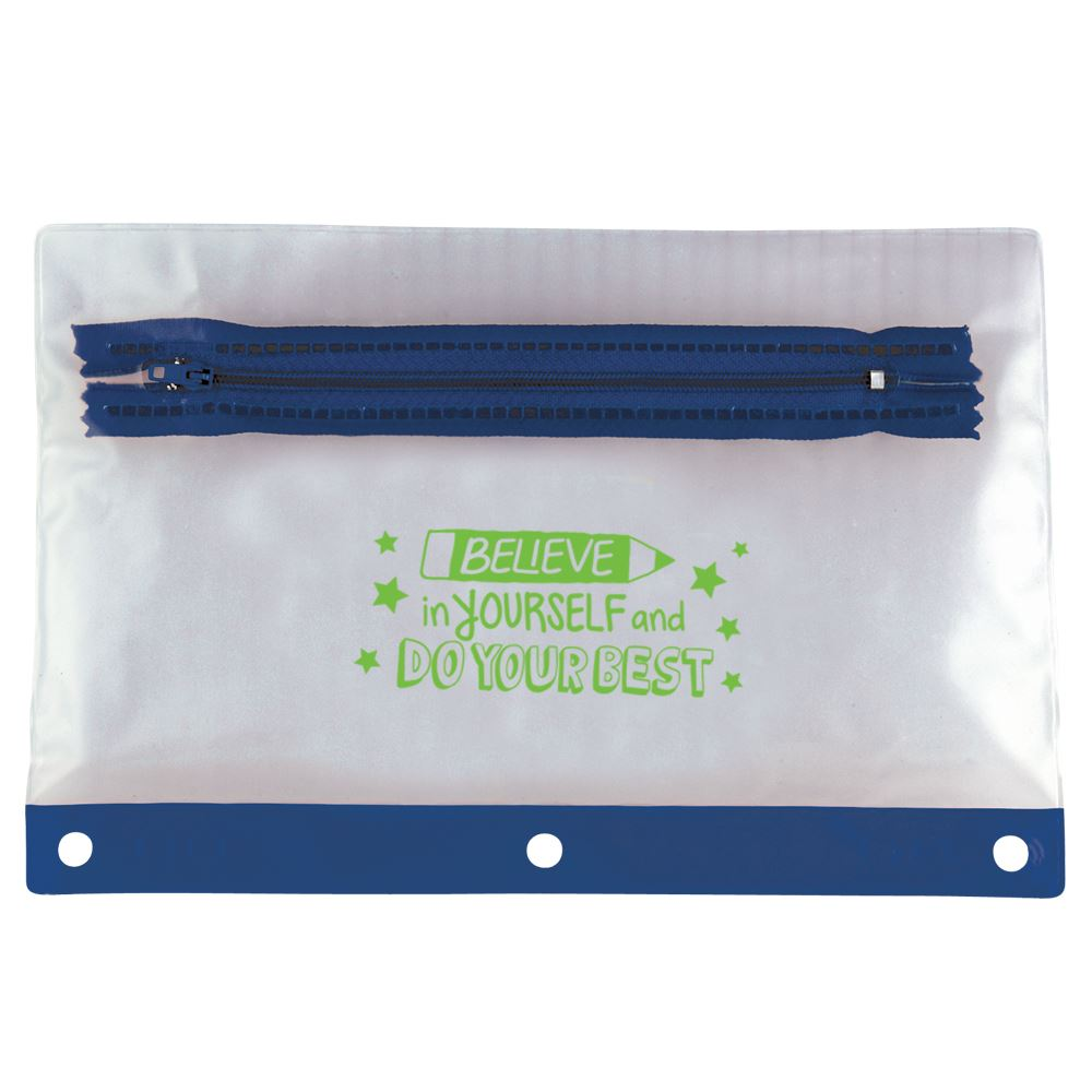 Believe In Yourself And Do Your Best Pencil Pouch - Pack of 10