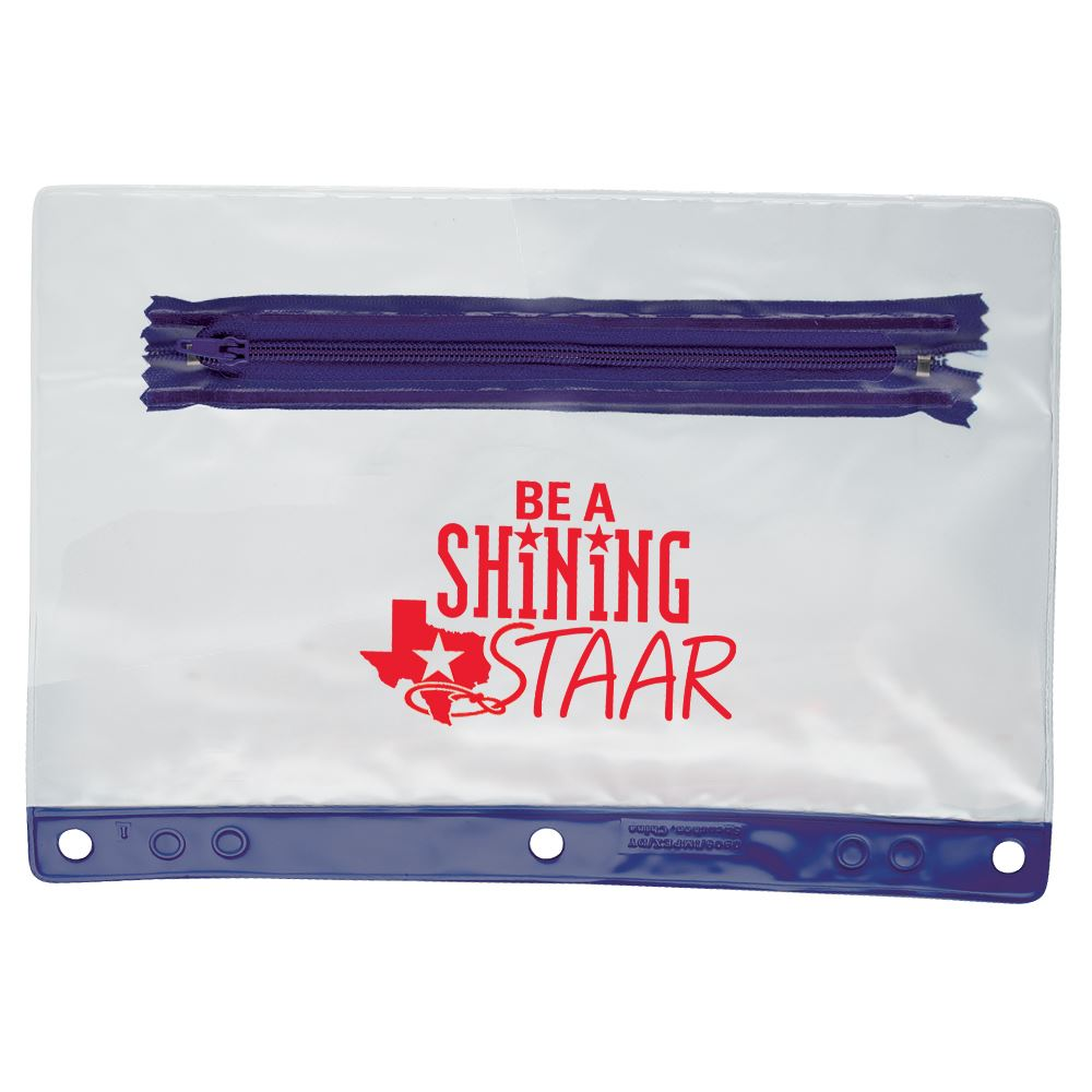 Be A Shining STAAR Pencil Pouch - Pack of 10