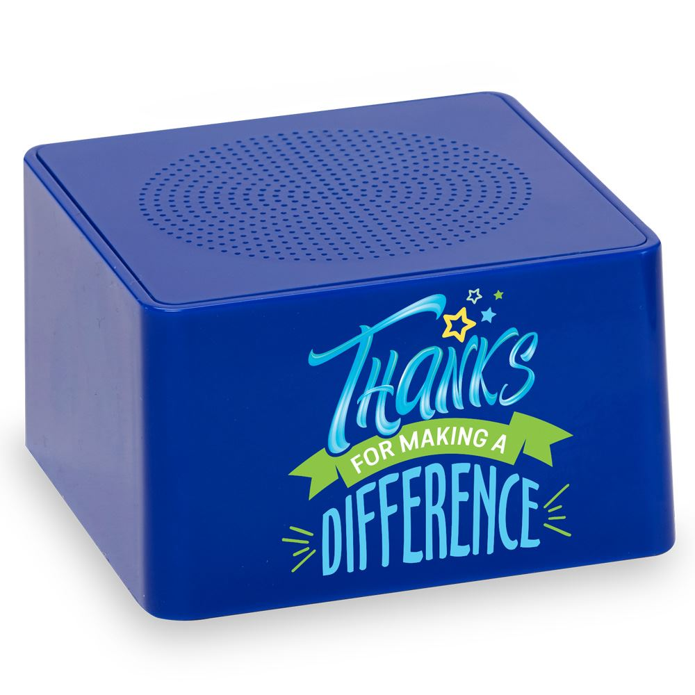Thanks For Making A Difference Bluetooth® Speaker
