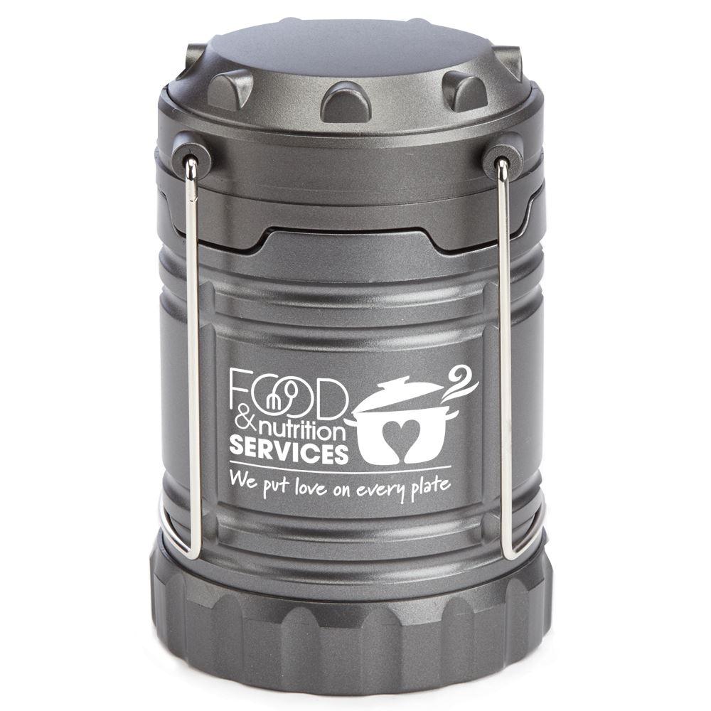 Food & Nutrition Services We Put Love On Every Plate Indoor/Outdoor Retractable LED Lantern
