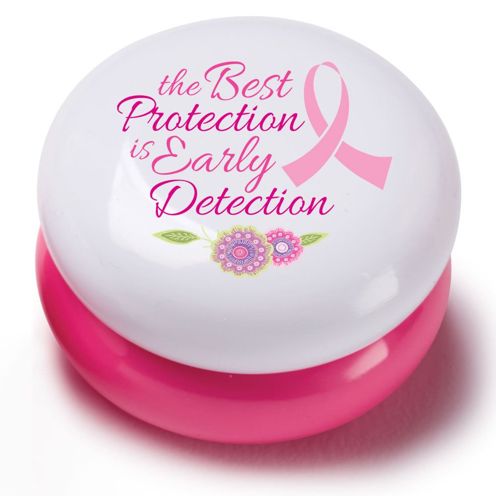 The Best Protection Is Early Detection Round Lip Balm - Pack of 10