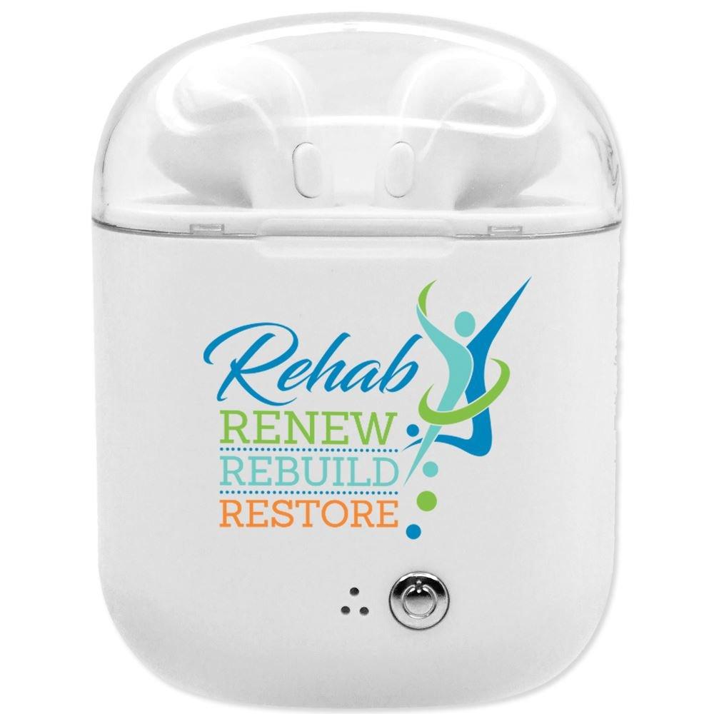 Rehab: Renew, Rebuild, Restore Bluetooth ® Earbuds In Charging Case