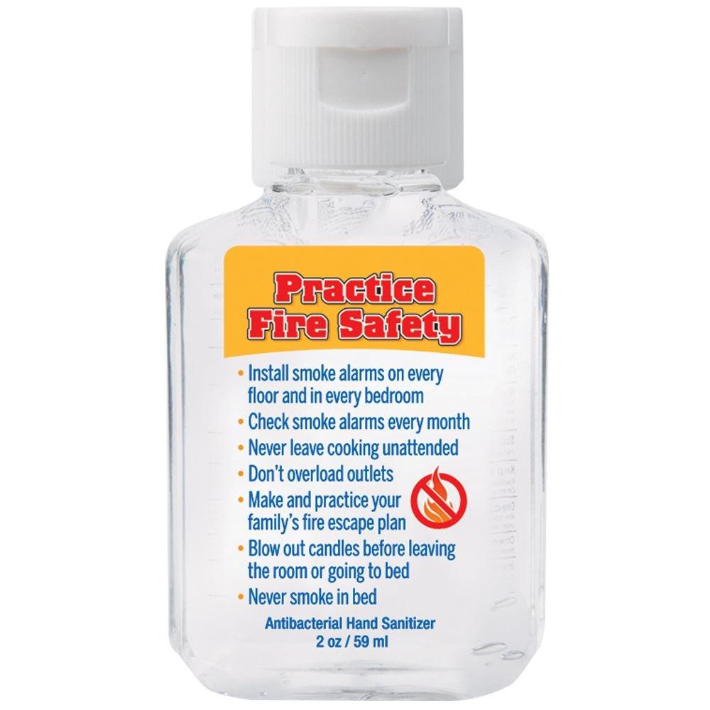 Fire Safety 2-Oz. Hand Sanitizer