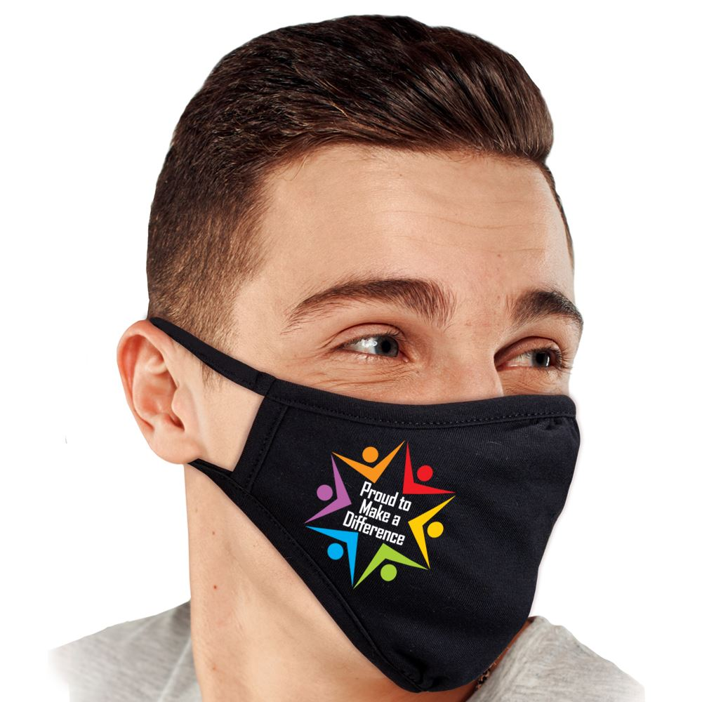 Proud to Make a Difference 2-Ply 100% Cotton Face Mask