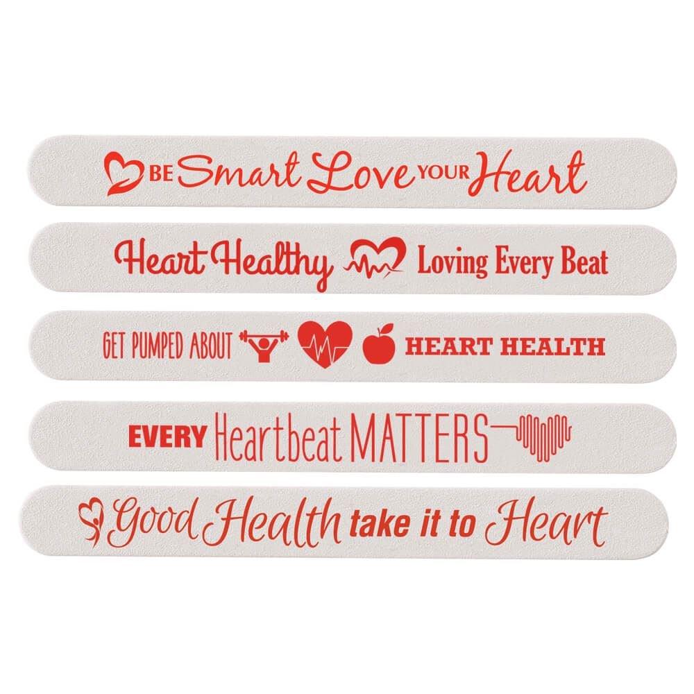 Heart Health Month Emery Board Assortment Pack