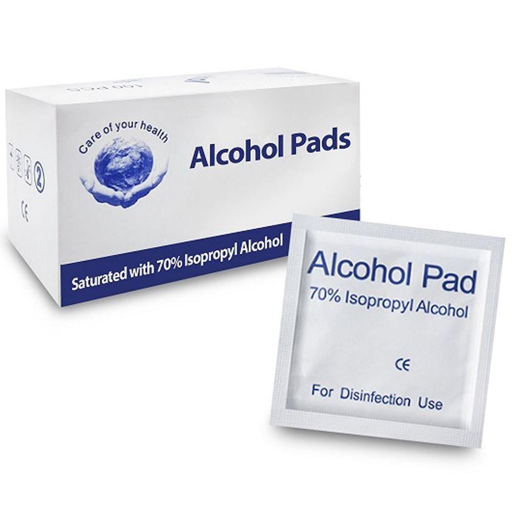Alcohol Prep Pads- Box of 100