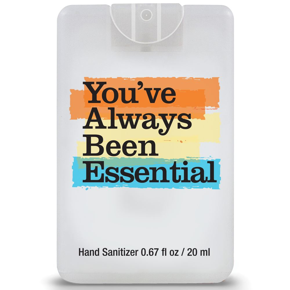 You've Always Been Essential�Credit Card Style Hand Sanitizer Spray