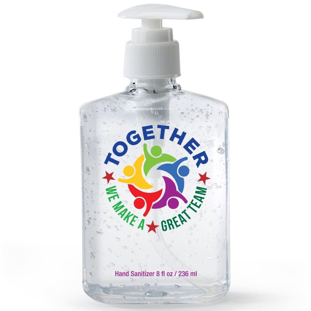 Together We Make A Great Team 8-Oz. Sanitizer Gel Pump