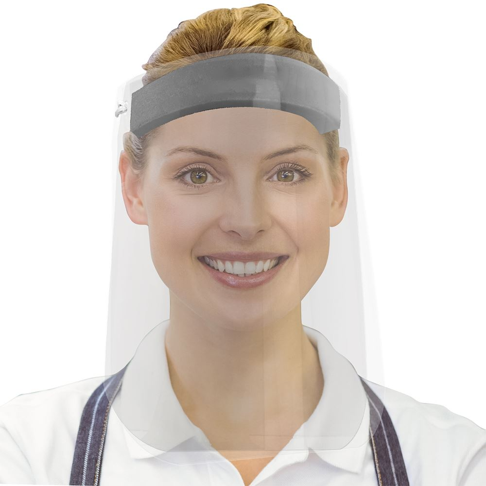 American Made Budget Face Shield - Blank