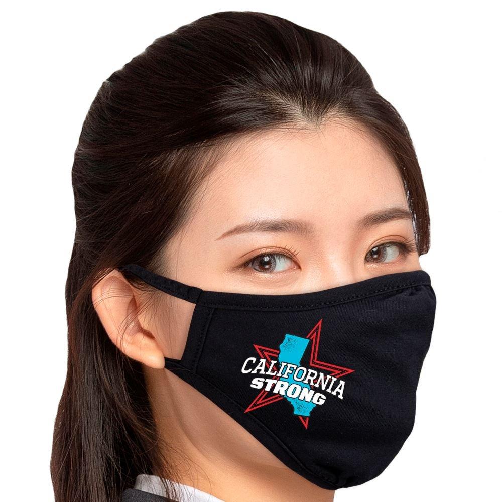 CALIFORNIA STRONG 2-Ply 100% Cotton Face Mask