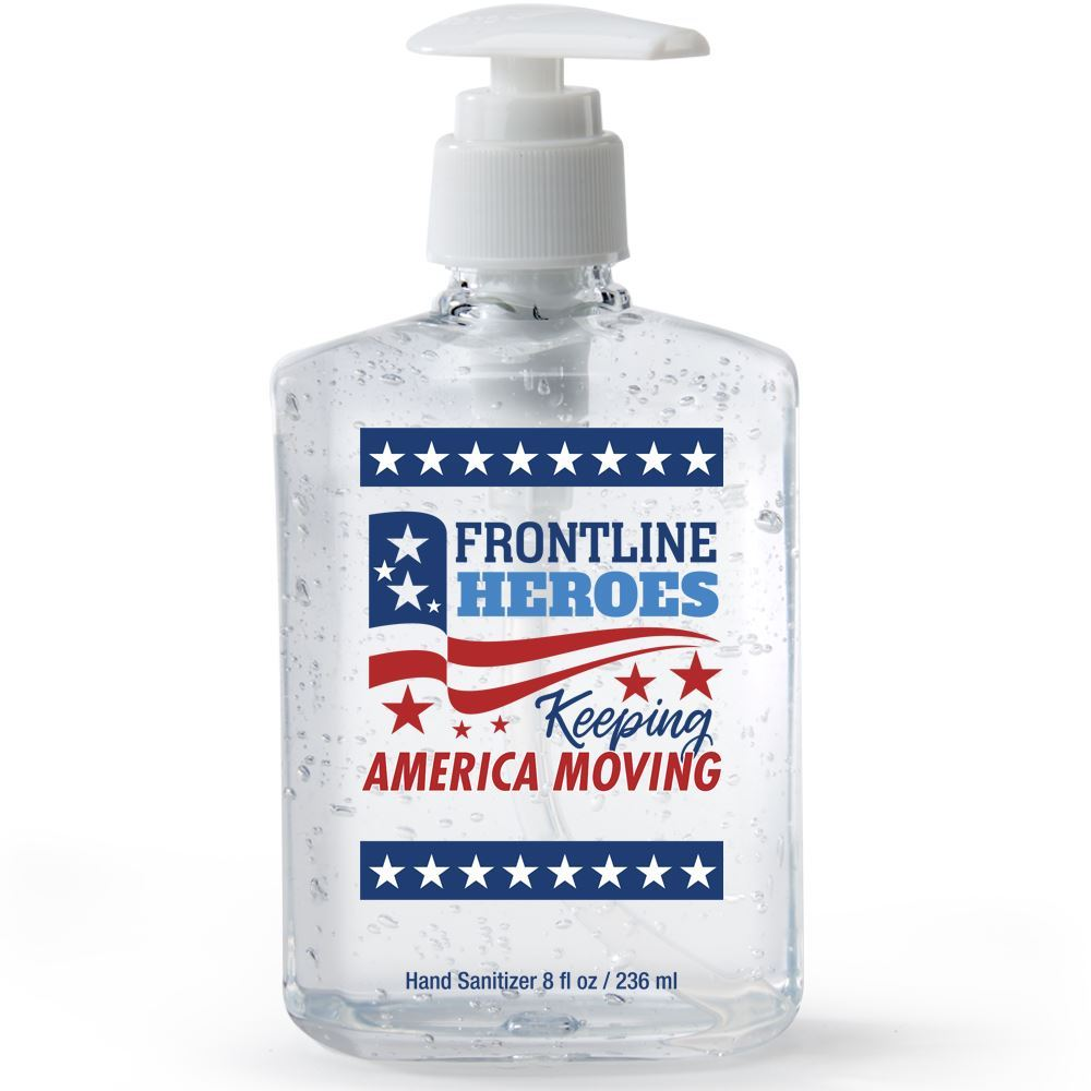 Frontline Heroes 8-oz. Sanitizer Gel Pump