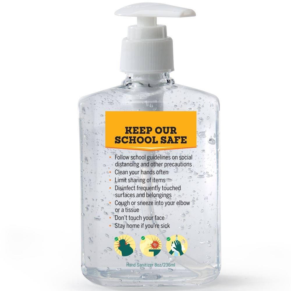 Keep Our School Safe 8-oz. Hand Sanitizer