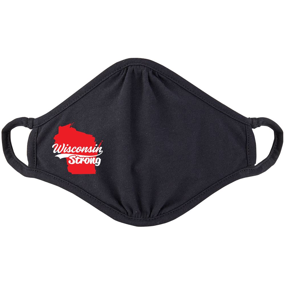 Wisconsin Strong 2-Ply 100% Cotton Face Mask