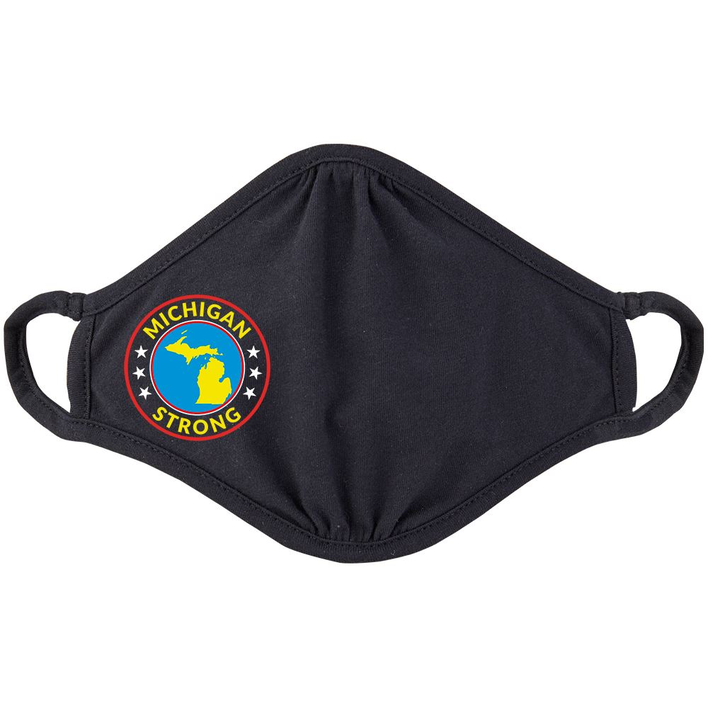Michigan Strong 2-Ply 100% Cotton Face Mask