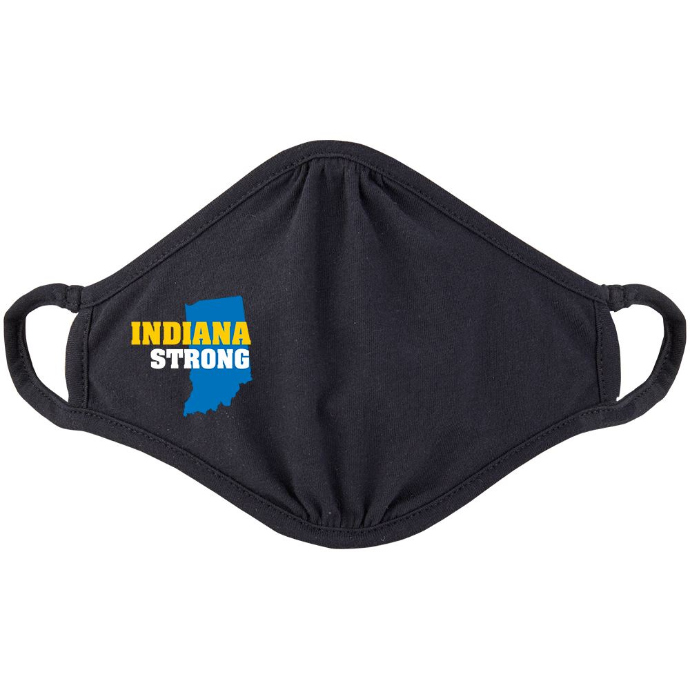 Indiana Strong 2-Ply 100% Cotton Mask