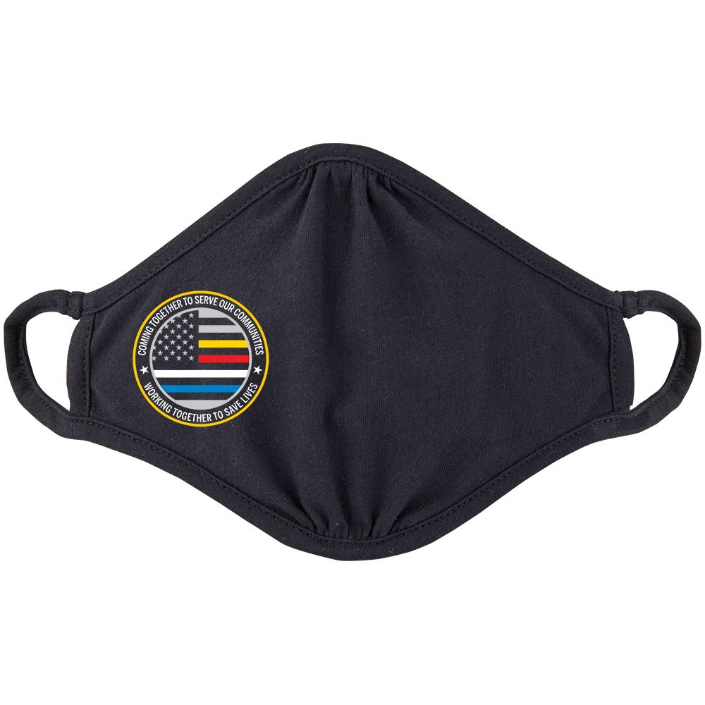 First Responders Strong 2-Ply 100% Cotton Mask