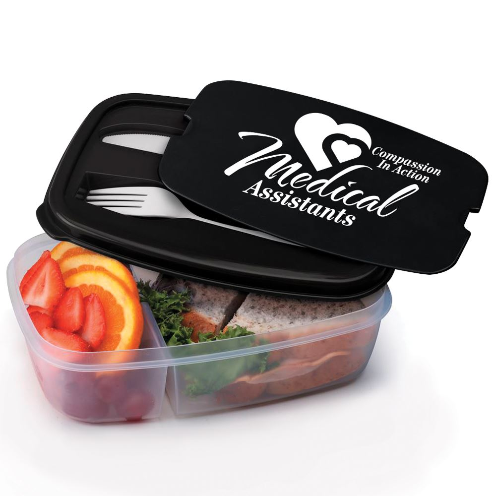 Medical Assistants: Compassion In Action 2-Section Food Container