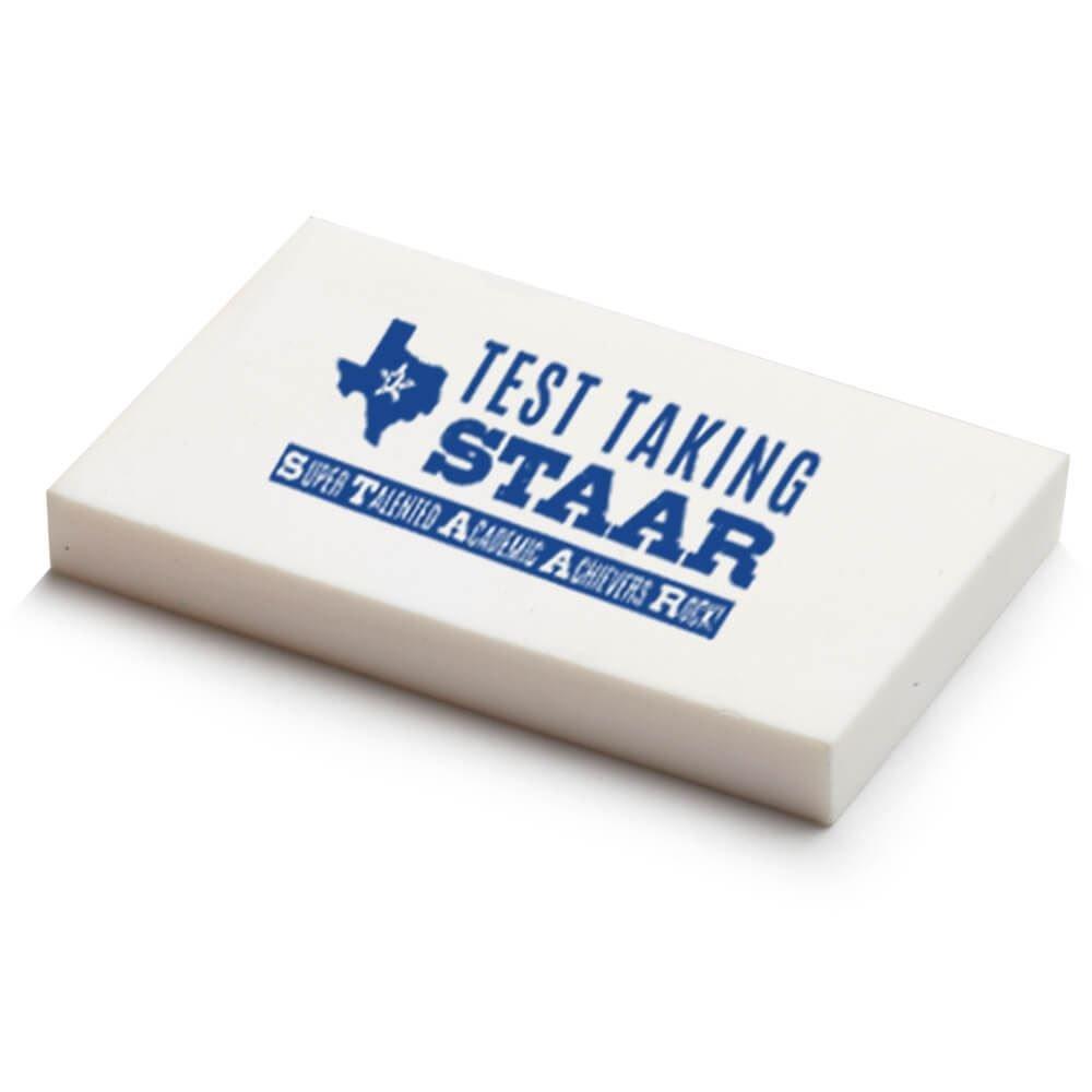 Test Taking STAAR White Eraser